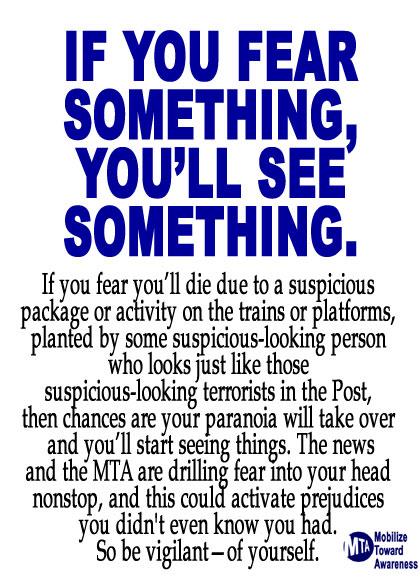 i fear...